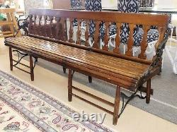 1484-501 Antique Late 19th Century Folding Gym Bench