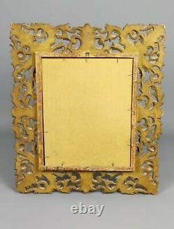 A Decorative Late 19th Century Florentine Mirror