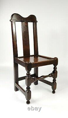 A Late 17th Century Welsh Hall Chair