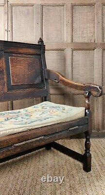 A Late 17th -early 18th Century Settle