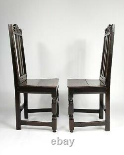 A Pair Of Late 17th Century Chairs