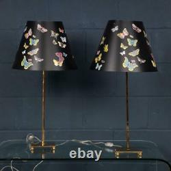 A Pair Of Late 20th Century Italian Table Lamps By Fornasetti