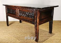 A late 17th early 18th century gothic rent table