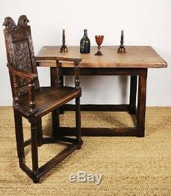 A small late 18th century farmhouse table