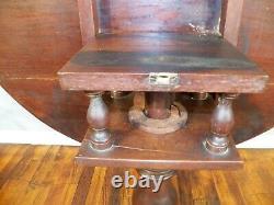 Antique American Walnut Tilt Top Tea Table Circa late 1700's
