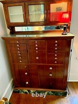 Antique Early 20th Century/late 19th Century Dental Cabinet