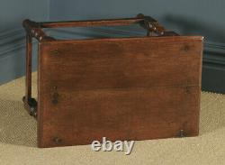 Antique English Late 17th Century Oak Occasional Hall Writing Lowboy Side Table