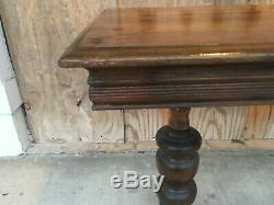Antique Gluck Brothers Brooklyn New York Expanding Library Table Late 1800's