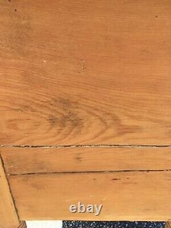 Antique Late 1800's Pine Cabinet set of Drawers