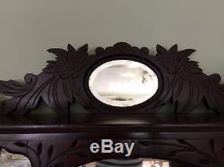 Antique Late 1880's Mahogany Eastlake Etagere