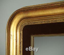 Antique Late 19th. C. Gilt Frame Mirror c. 1880