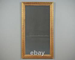 Antique Late 19th. C. Giltwood Dressing or Hall Mirror c. 1870
