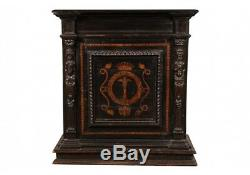 Antique Late 19th Century Renaissance Style Carved Cabinet (51825)