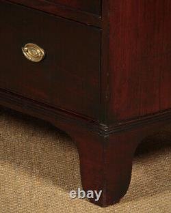 Antique Late Georgian Mahogany Chest of Drawers c. 1810