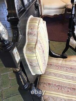 Antique Late Victorian 5 piece Parlor Suite