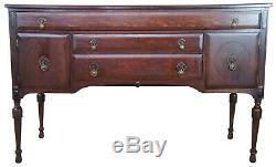 Antique Late Victorian Quartersawn Oak Buffet Sideboard Standard Table Co. 60