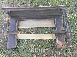 Antique Mantle Shelf For mirror (late 1800's)
