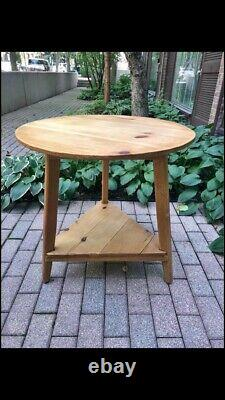 Antique Pine Cricket Table (Late 1800s)