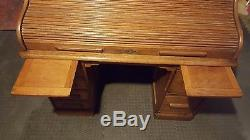 Antique Roll Top Desk mid to late 1800's
