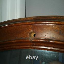 Antique Spoon Carved Full Length MirrorLate 1800'sEVC