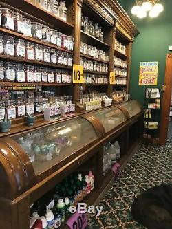 Antique apothecary cabinets late 1800s