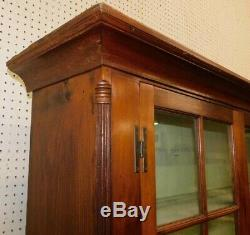 Antique late 18th Century Philadelphia Area Chippendale Step Back Dutch Cupboard
