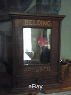 Antique sewing cabinet late 1800s