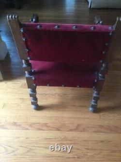 Baroque Ornate Carved Chairs and Settee Late 1800's