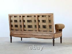 French Campaign Sofa, Late 19th Century