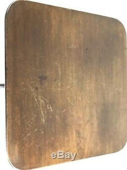 Georgian Oak Flip-Top Tripod Square Supper Table Late C18th