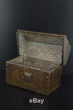 Gothic chest (casket) Spain, late 15th century