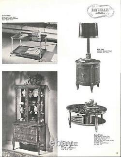 Henredon Fine Furniture De Ville Collection Late 50s Curio China Display Cabinet