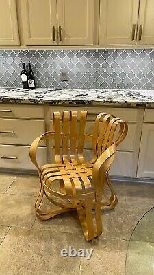 Knoll Frank Gehry Cross Check Chair Late 90s Custom Shipping if Required
