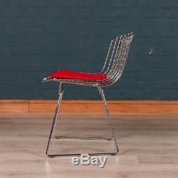 LATE 20thC SET OF EIGHT HARRY BERTOIS SIDE CHAIRS BY KNOLL