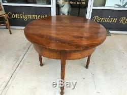 Late 1700s Solid Mahogany American Gateleg Table at Raleigh Furniture Gallery