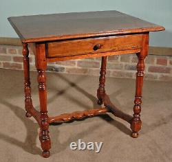 Late 17th Century Solid Walnut Tavern Table