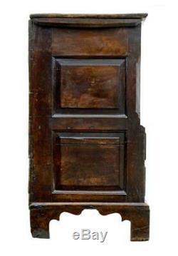 Late 17th Century Welsh Oak Mule Chest Coffer