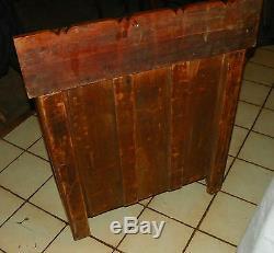 Late 1800's Chestnut Eastlake Washstand / Cabinet (DR42)
