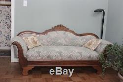 Late 1800s Walnut Antique love seat