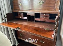 Late 18th Century Antique English Tall Chest on Chest Great Condition
