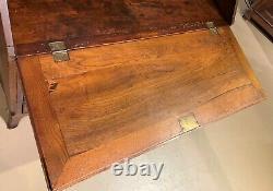Late 18th Century Walnut Transitional Slant Front Desk