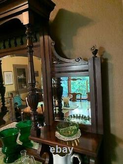 Late 19th Century 2 Pc Eastlake Victorian Buffet One Of A Kind