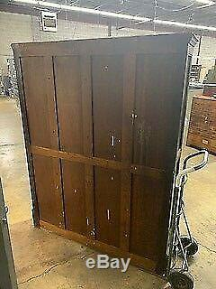 Late 19th Century Antique Ambergs Imperial Letter File 60 Drawer Cabinet