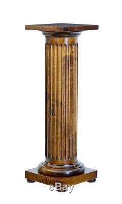 Late 19th Century Birch Column Pedestal