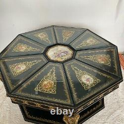 Late 19th Century Boulle French Marquetry Inlay Coffee Table