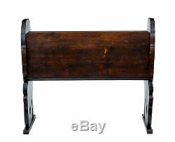 Late 19th Century Carved Pine Bench
