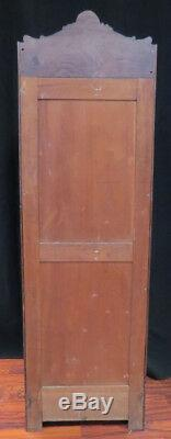 Late 19th Century French Made Brazilian Owned Rosewood Oak File Cabinet