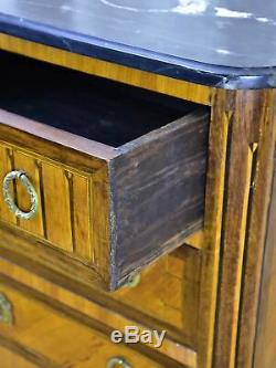 Late 19th Century French dresser marquetry