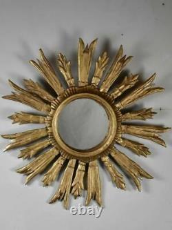 Late 19th Century French sunburst mirror 19