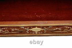 Late 19th Century Inlaid Mahogany Card Table By Edwards And Roberts